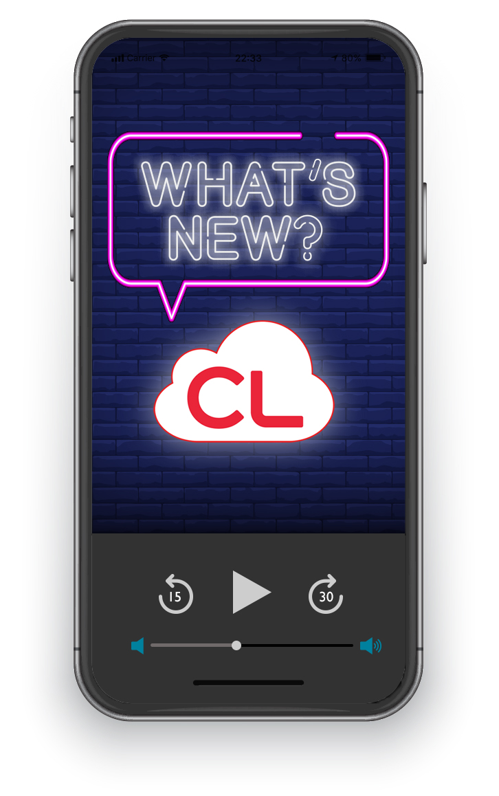 Visit Our What's New on cloudLibrary Express Audiobook List