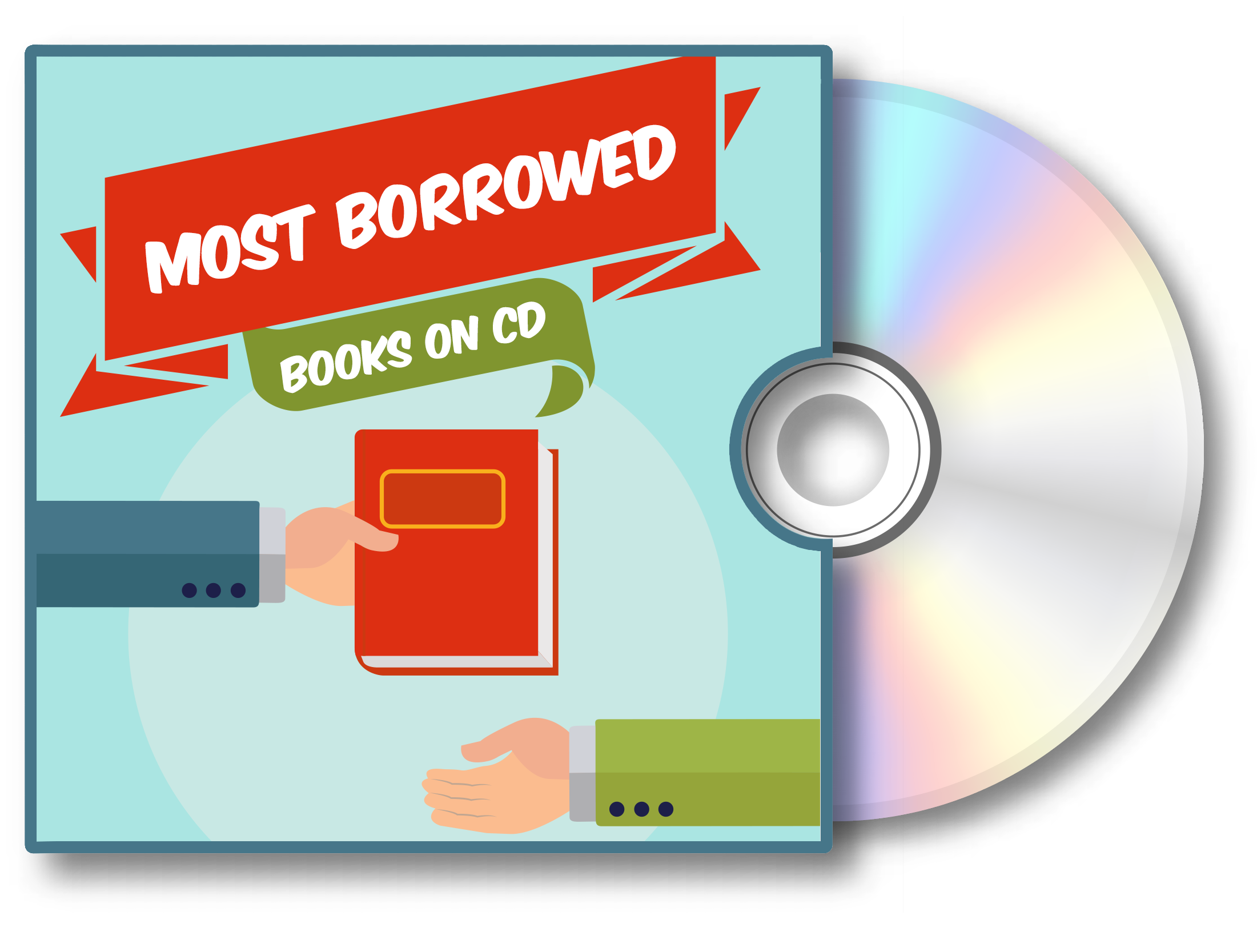 Visit the Most Borrowed Books on CD audiobook Bookletter