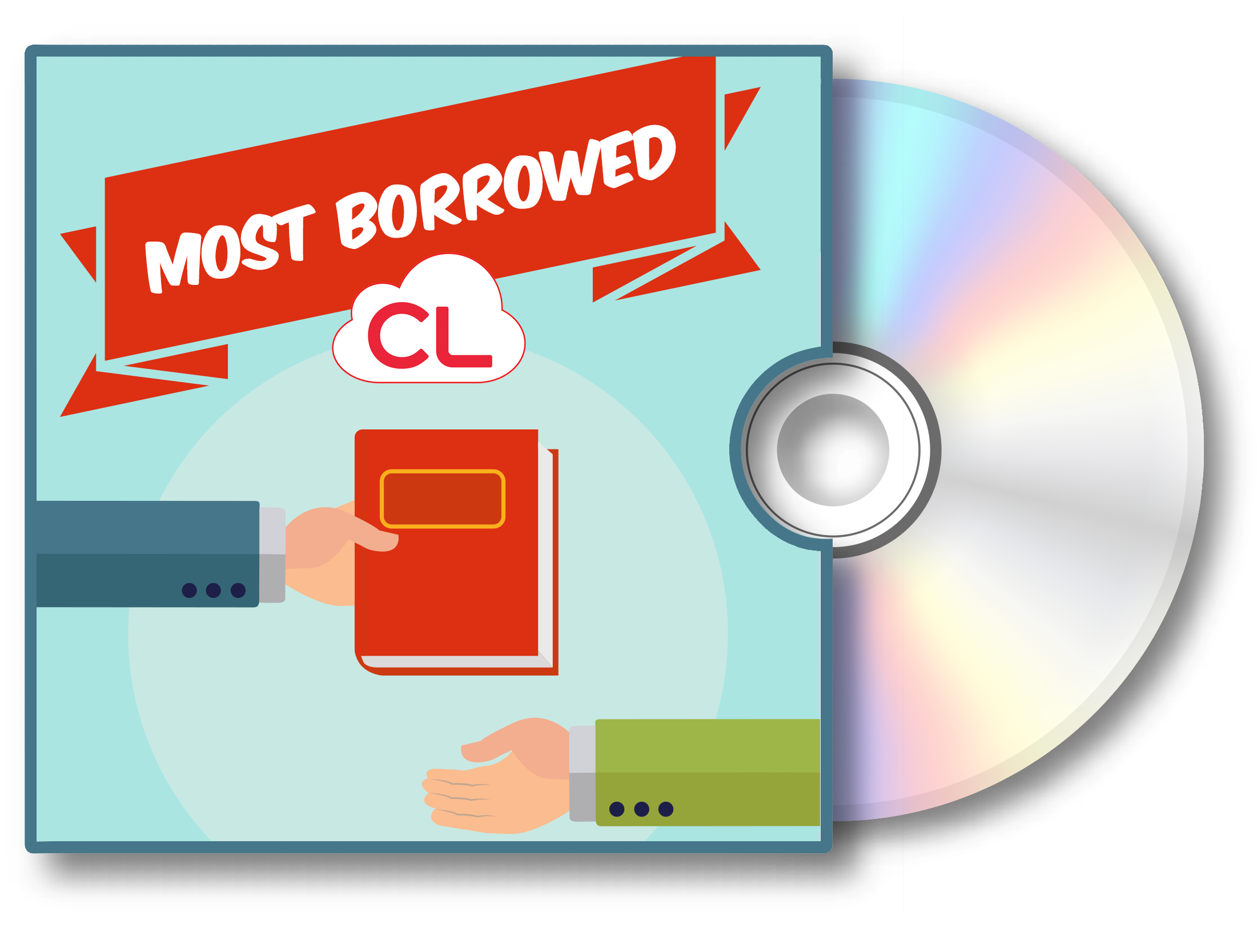 Visit the Most Borrowed cloudLibrary audiobook Bookletter