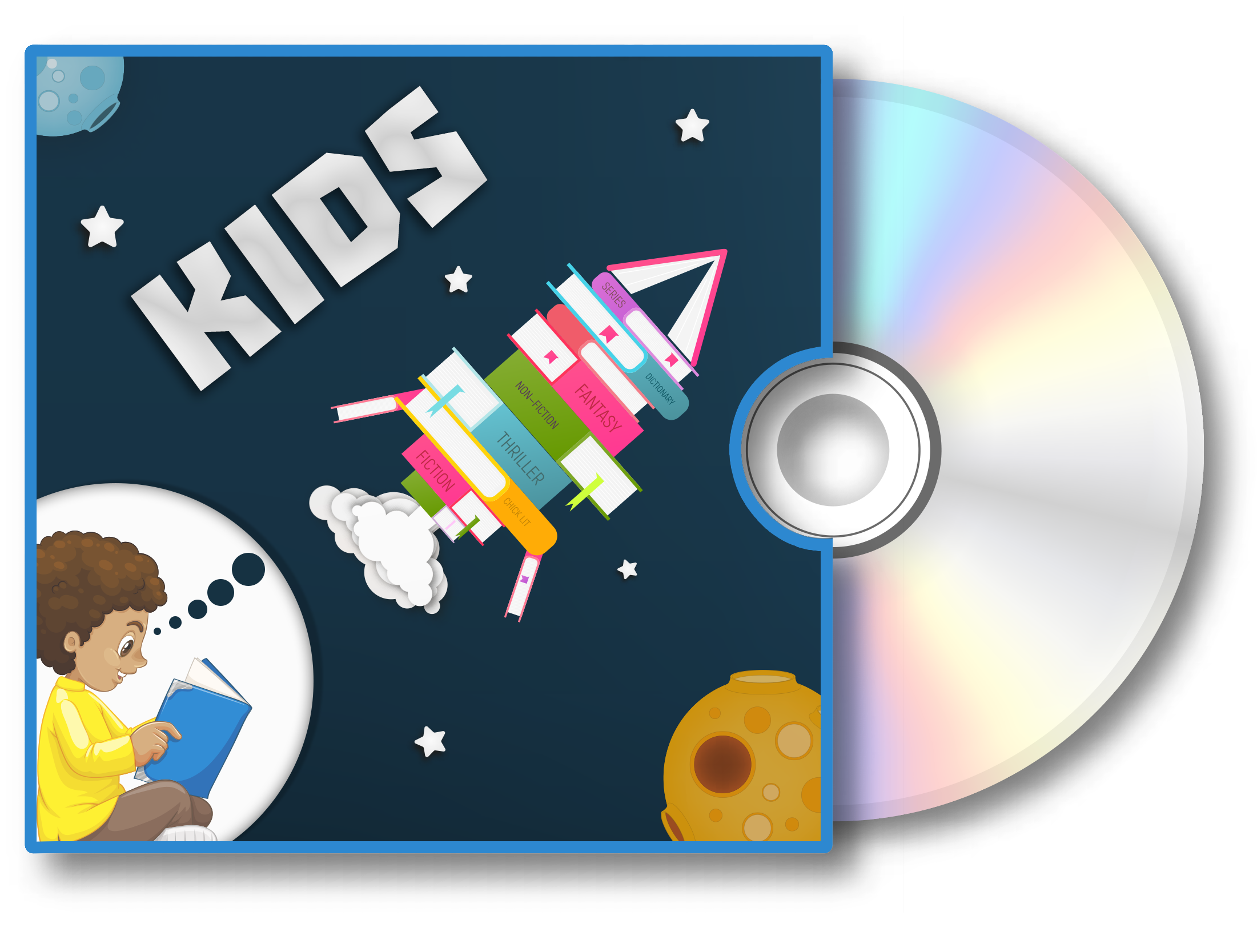 Visit the Kids audiobook Bookletter