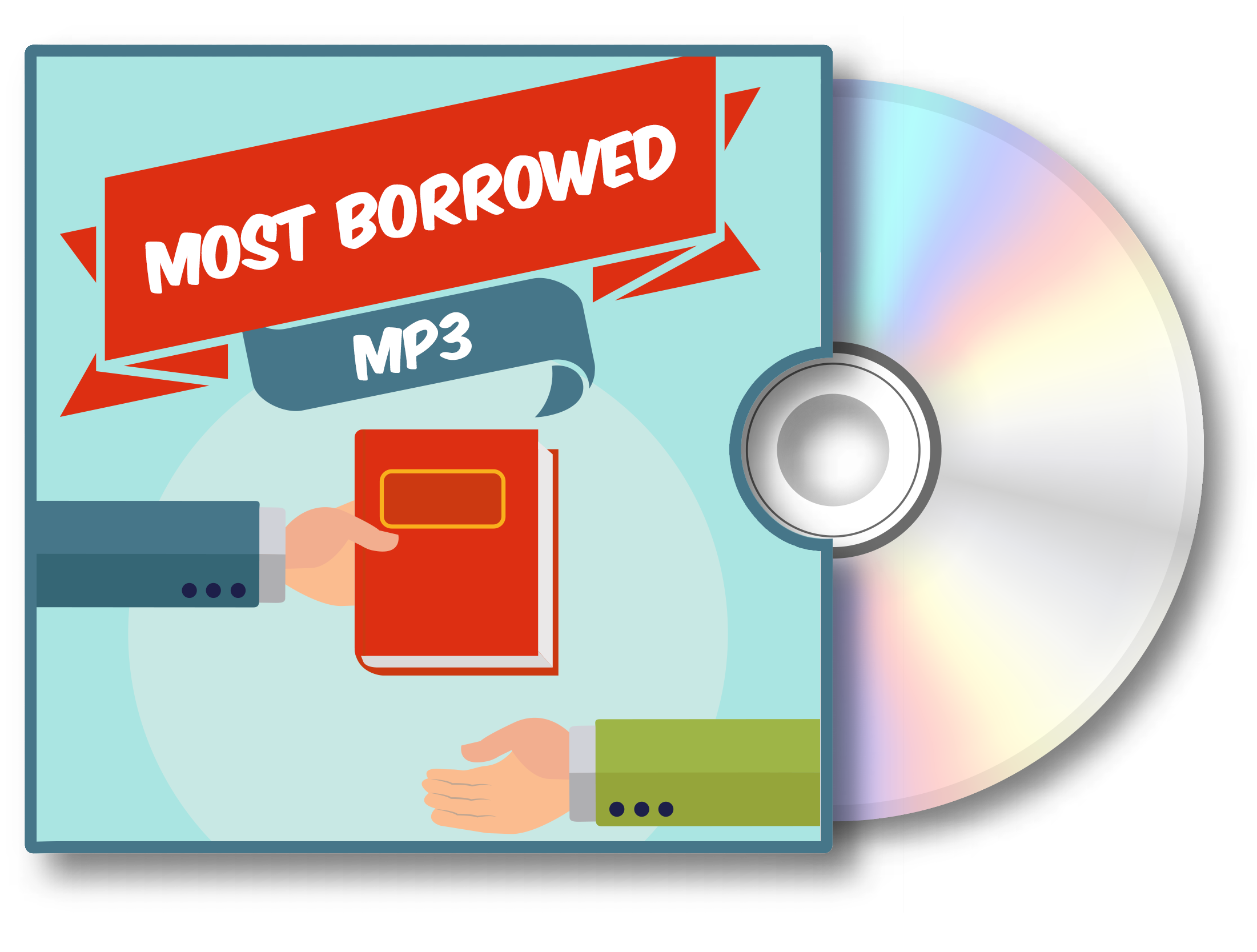 Visit the Most Borrowed MP3s audiobook Bookletter