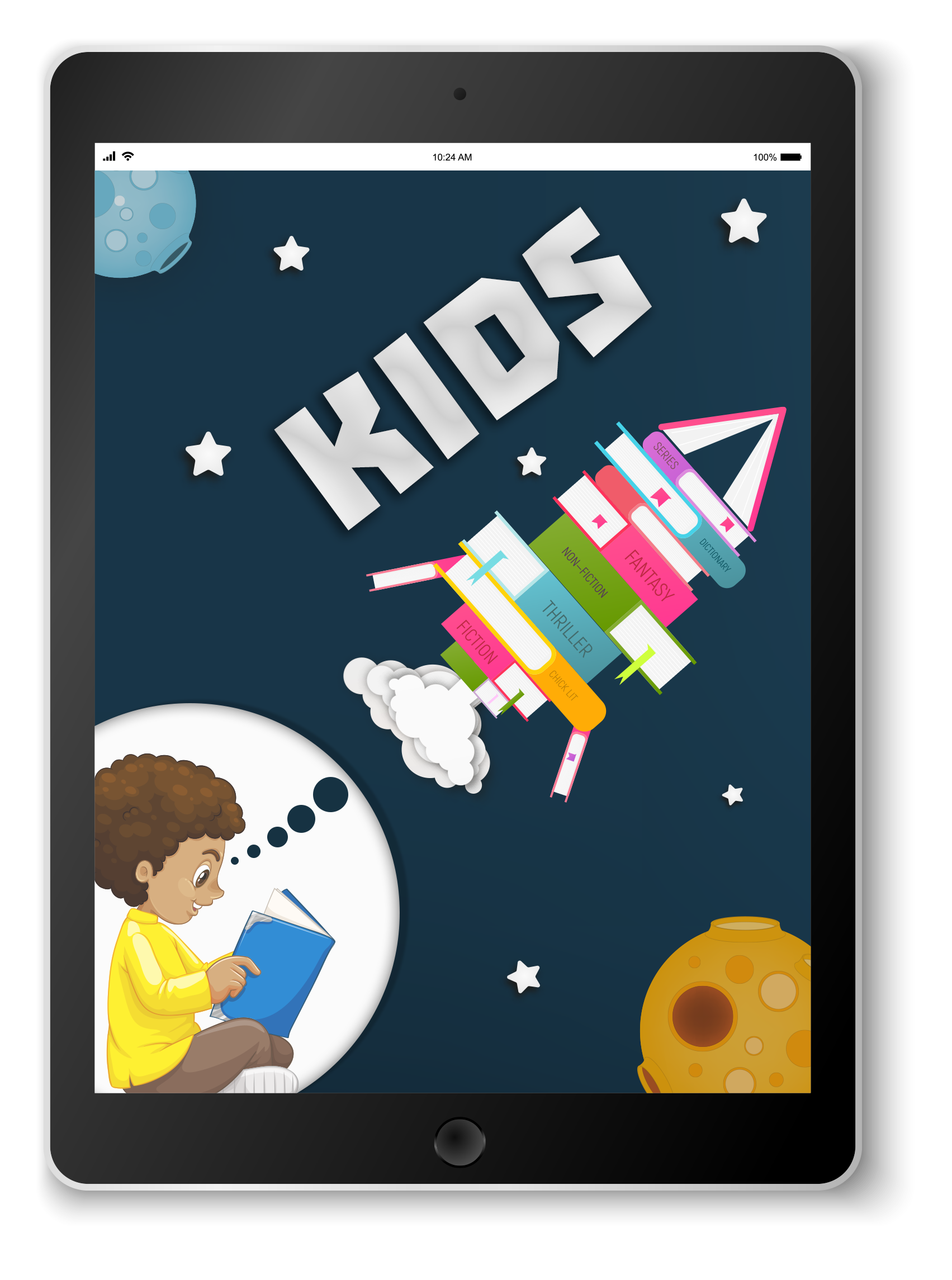Visit the Kids e-book Bookletter