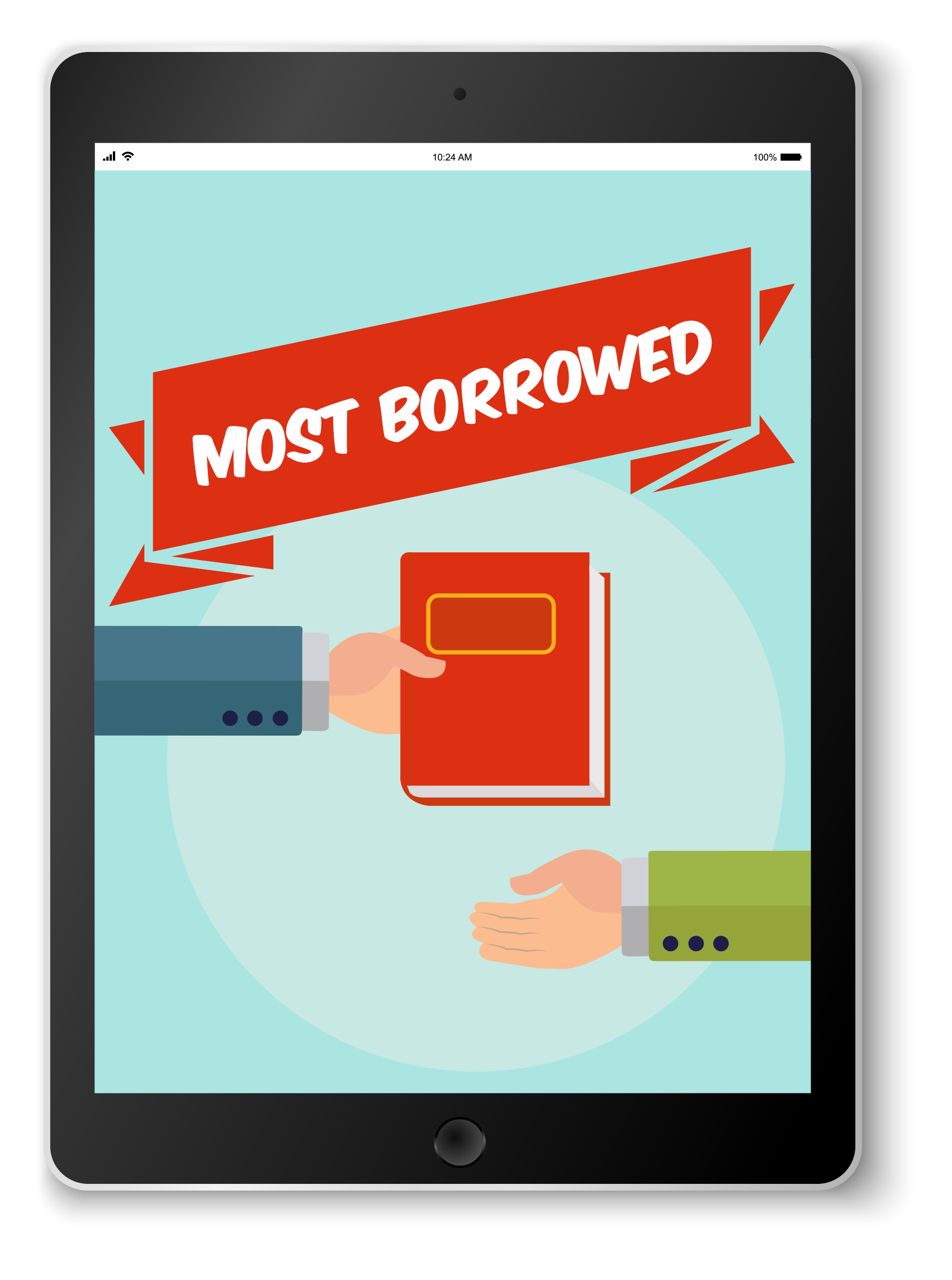 Visit the Most Borrowed e-book Bookletter