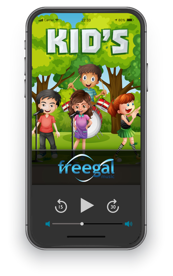 Browse a collection of kids music on Freegal.